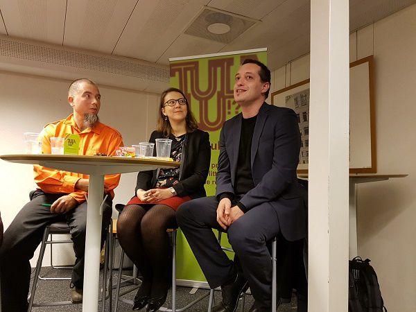 Pierre Fankhauser, Carole Dubuis et Miguel Moura