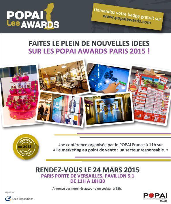 popai awards 2015 faites le plein d idees