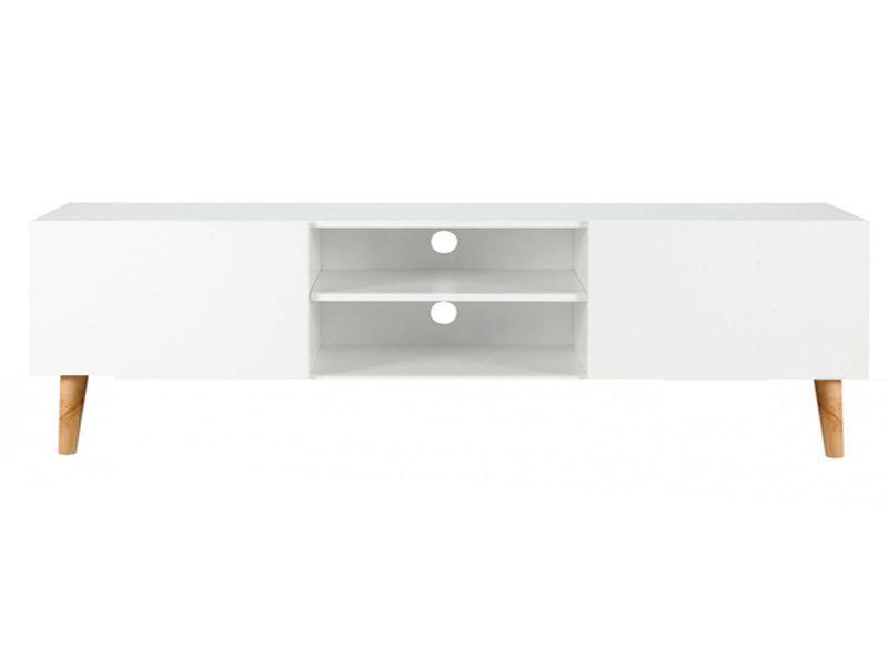 Customiser Un Meuble Tv Ikea Avec Pieds Scandinaves En Bois