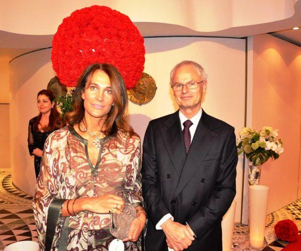 Les Altesses  Royales Alvaro et Antonella Borbòn-Orléans