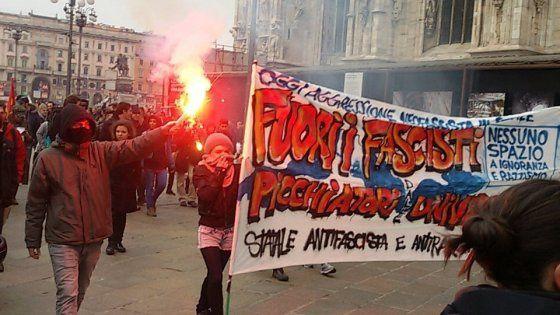 Fascisti, carogne, tornate nelle fogne (scusate se ogni tanto usciamo)