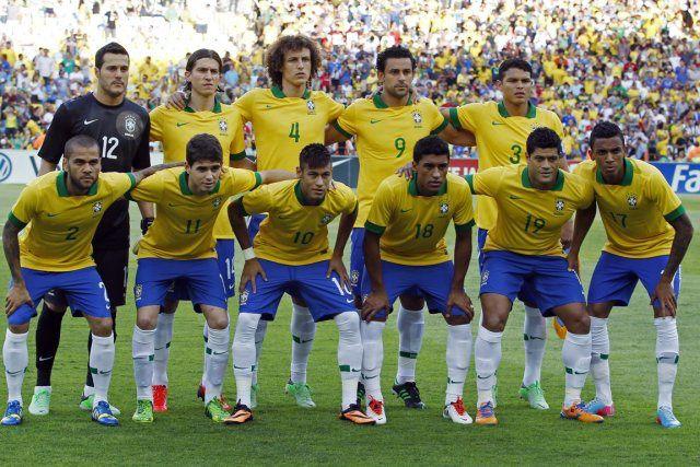 La sélection brésilienne lors de cette Coupe du Monde
