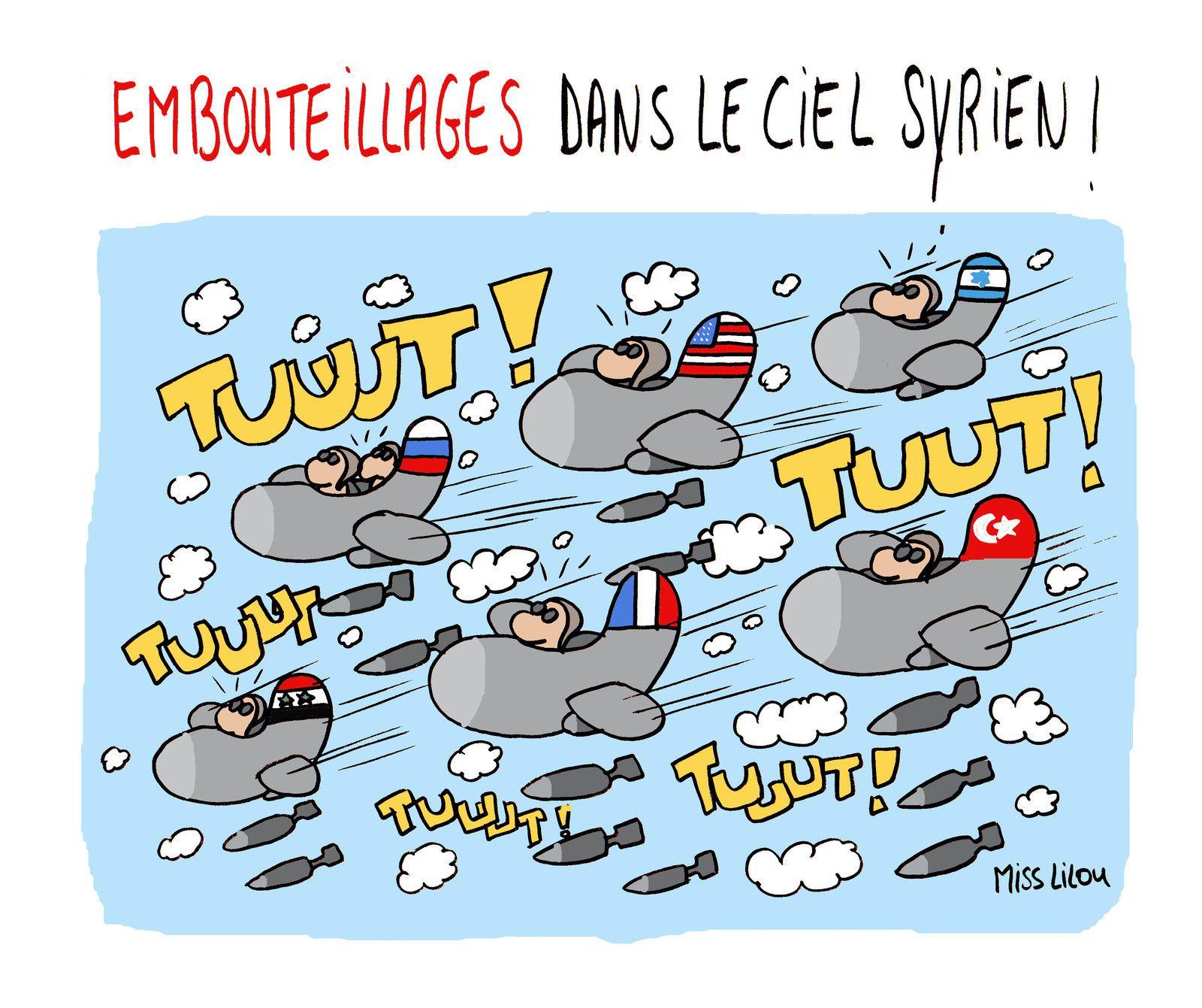 """Résultat de recherche d'images pour """"syrie bombardements foireux caricatures"""""""