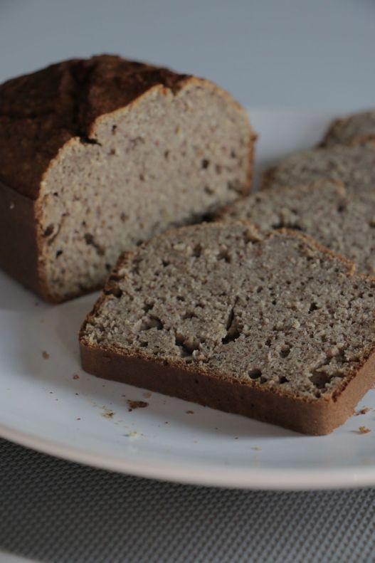 Bread-cake sarrasin aux épices (IG bas, sans gluten et sans lactose)