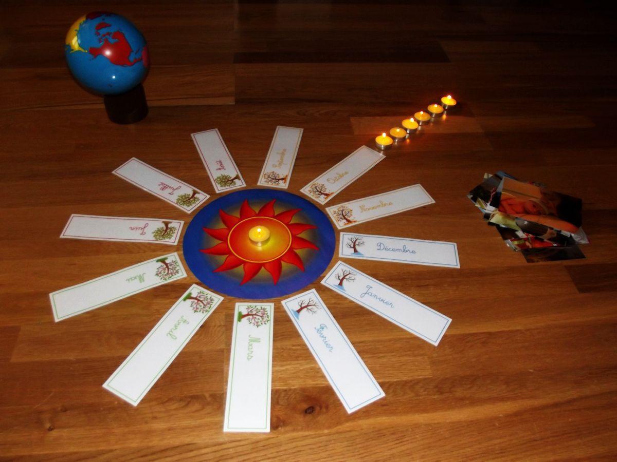 Un anniversaire Montessori