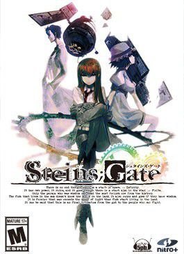 RAPPEL : Jeu en Anglais intégral / Doublé en Japonais - Windows XP/Vista/7/8 - Disponible ici : http://www.jastusa.com/shop/steins-gate.html / Prix : ~30€ - Durée : 50 heures / Type : Visual Novel (Voyage dans le temps - Romance - Thriller)
