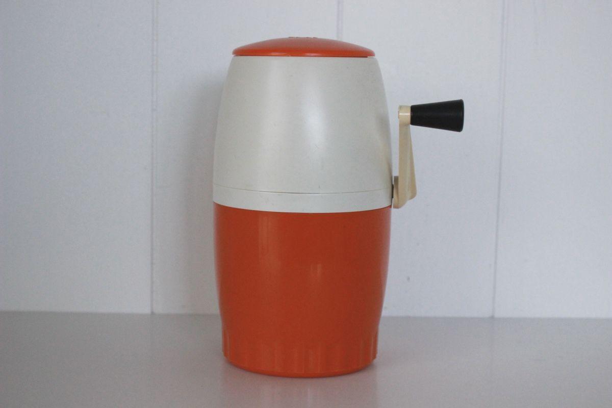 pileur de glace orange omi annees 70
