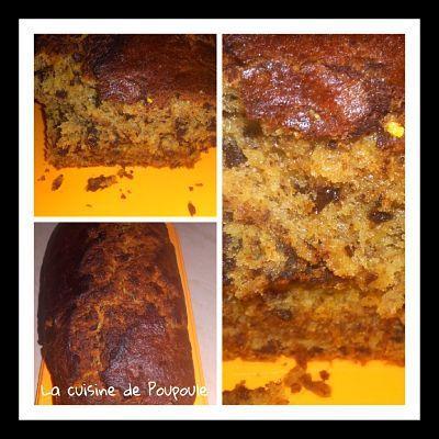 cake rhum chocolat banane martinique
