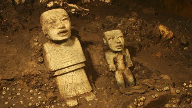 Spectaculaires découvertes archéologiques à Téotihuacan © REUTERS