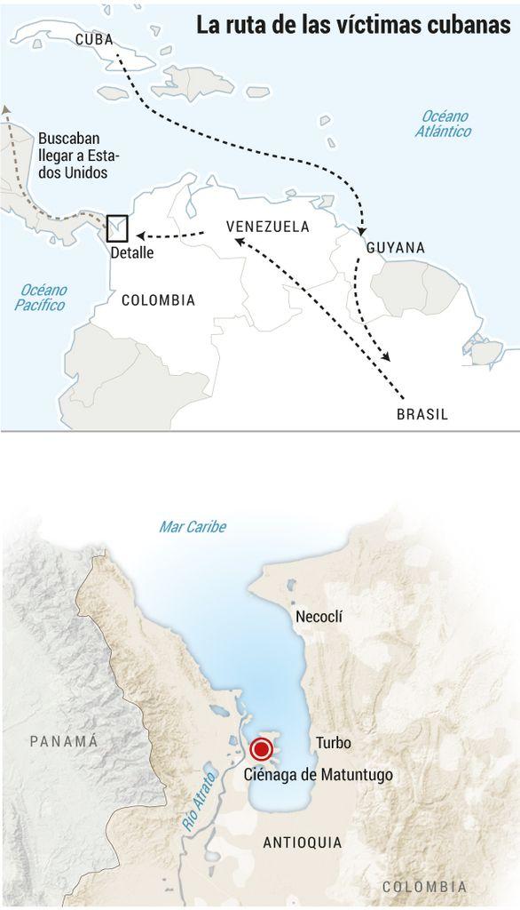 Extraditarán a los dos coyotes que asesinaron a dos cubanos que intentaban llegar a EEUU