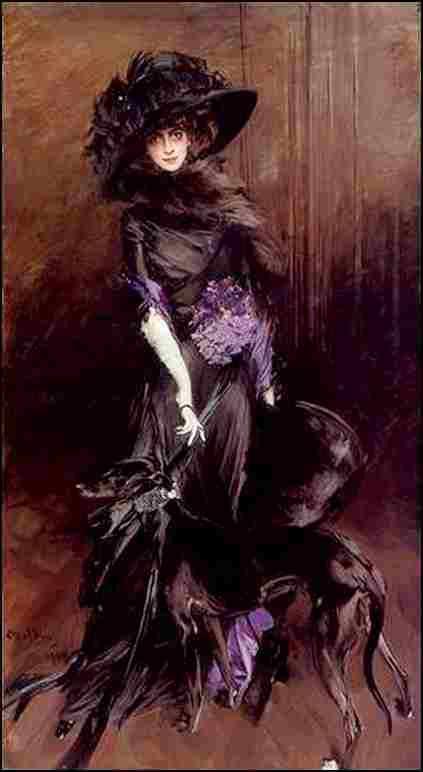 Portrait-de la marquise Luisa Casati (1908)