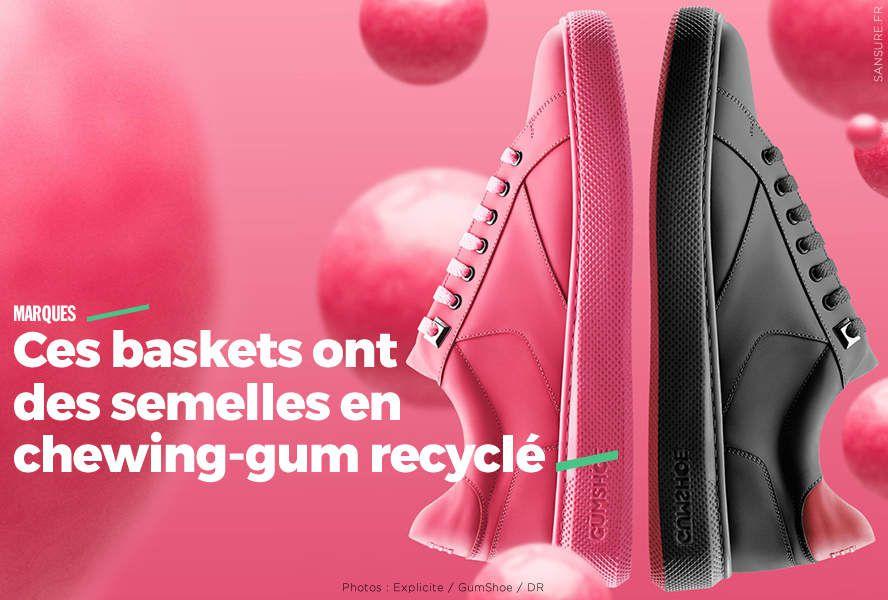 """Résultat de recherche d'images pour """"chaussure semelle chewing gum"""""""
