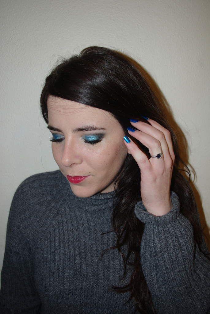 Mes yeux brillent de mille bleus