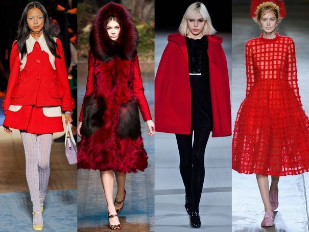 Les couleurs tendances pour l'automne hiver 2014