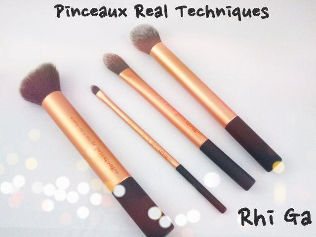 Mes pinceaux Real Techniques