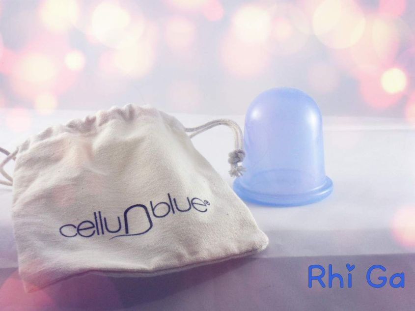 CelluBlue la ventouse anti-cellulite