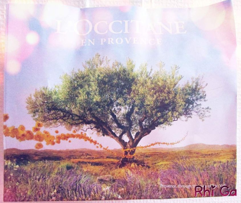 Ma première fois chez l'Occitane en Provence