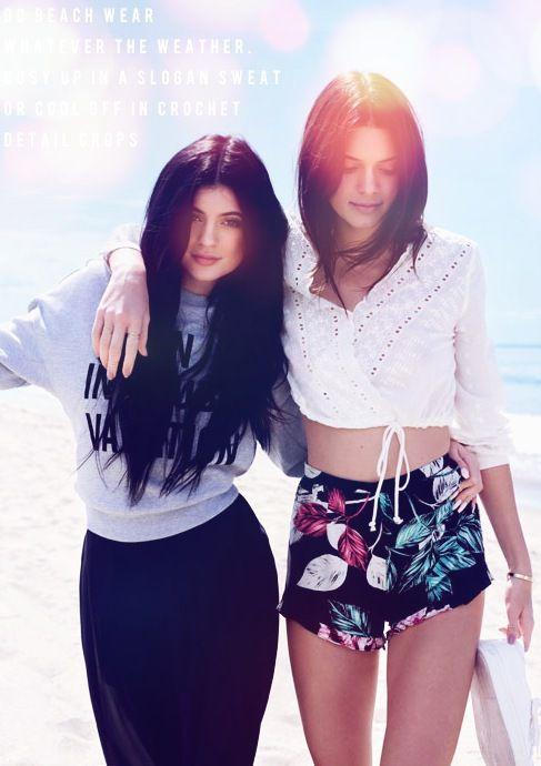 Kendall et Kylie pour Topshop