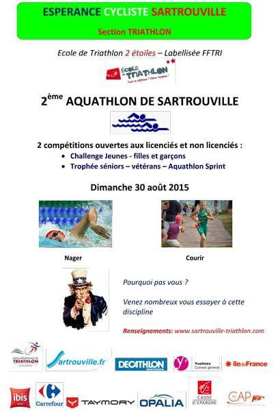 2eme Aquathlon de Sartrouville