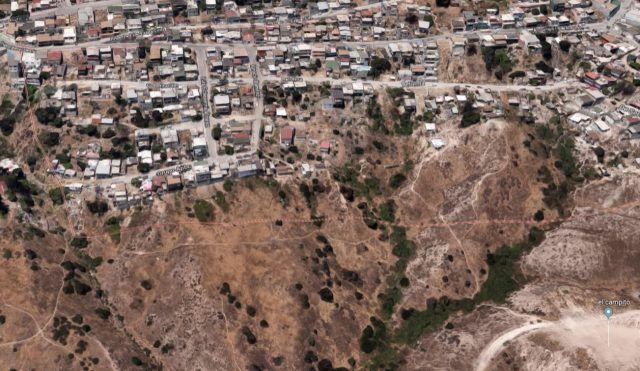Mexique  Tijuana Un Glissement De Terrain Majeur A Dtruit