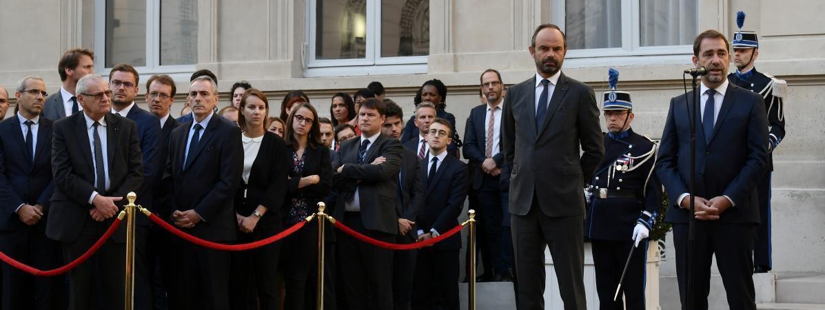 Castaner à l'Intérieur, Riester à la Culture, Guillaume à l'Agriculture... Découvrez la composition complète du nouveau gouvernement