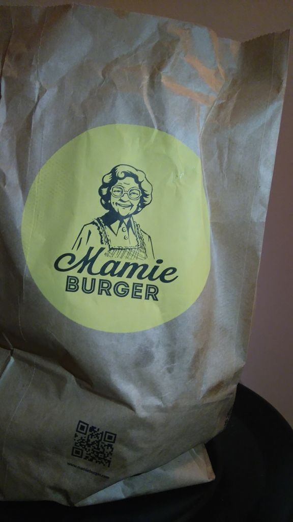 Mamie burger at home grâce à Deliveroo