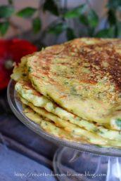 Pancakes aux légumes - recette simple