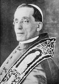 le pape Benoit XV