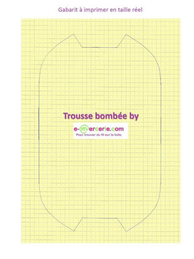 Tuto Couture Trousse Bombée - DIY