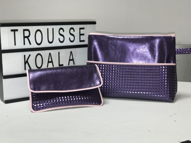 Trousse Koala Et Sa Pochette Passepoilée Tutoriel Patron Couture