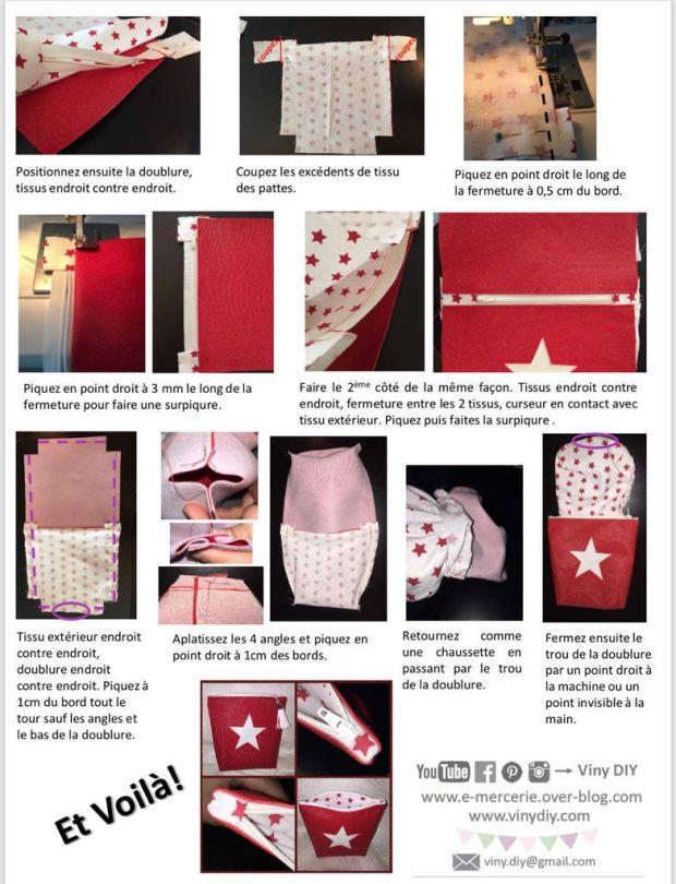 Coudre une fermeture avec ajouts de propreté - Tutoriel Couture DIY