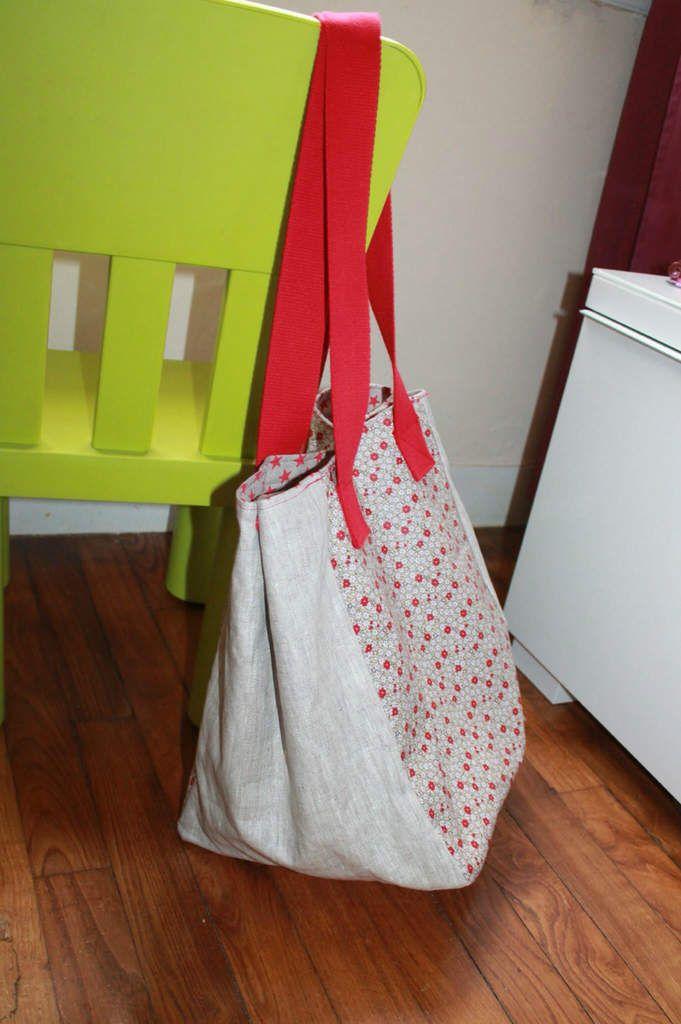 tuto sac cabas playa vid o et pdf facile d butant les tutos couture de viny blog de. Black Bedroom Furniture Sets. Home Design Ideas