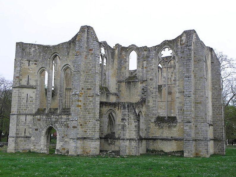 Abbaye du Lys, Dammarie-lès-Lys (77), fondée par Blanche de Castille, démantelée sous la Révolution
