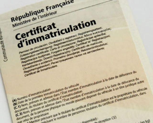 Immatriculer sa voiture provenant de l'étranger : Certificat de Conformité