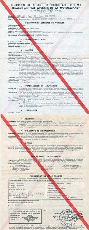 Le certificat de conformité Scooter ou cyclomoteur