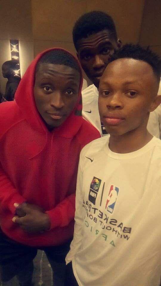 Avec Victor Oladipo