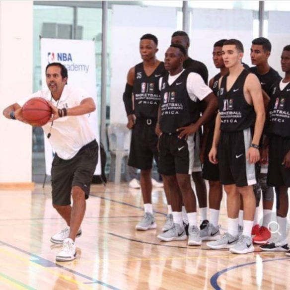 Basketball Without Borders Africa Camp : le centrafricain Axel Wegsheider élu MVP