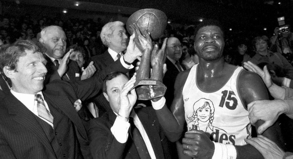 Mathieu Bisseni, une des premières légendes du basket Africain a avoir inscrit son nom au palmarès européen des clubs