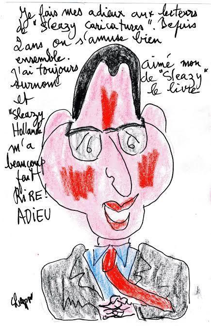 Nos adieux à Sleazy Hollande