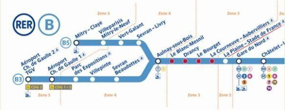 Ile-de-France : trafic ferroviaire perturbé entre Paris et l'aéroport de Roissy ce week-end
