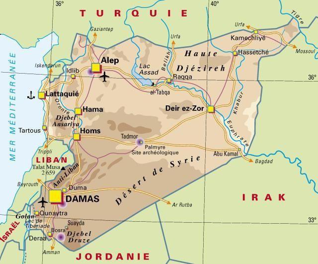 Rapide voyage à l'intérieur de la SYRIE gouvernementale [TÉMOIGNAGE]