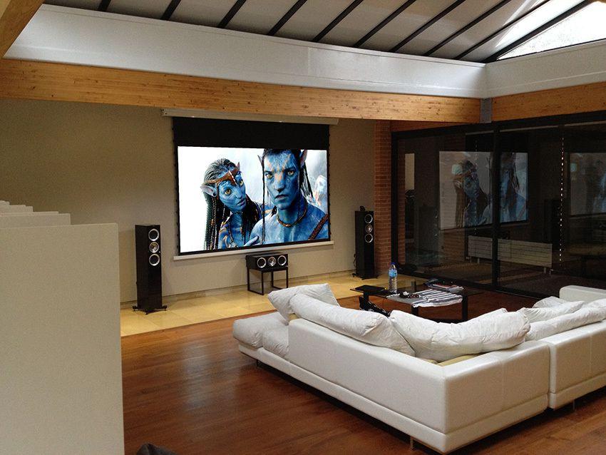 Un Home Cinma Pour Audiophile Installations