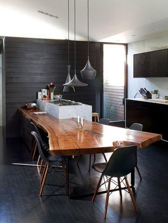 quelle table pour une cuisine avec ilot central