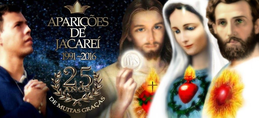 Jacarei 11 Octobre 2018 - Vigile du 301ème Anniversaire de l'Immaculée Conception Aparecida - Message de Notre Dame Reine et Messagère de la Paix communiqué à Marcos Tadeu
