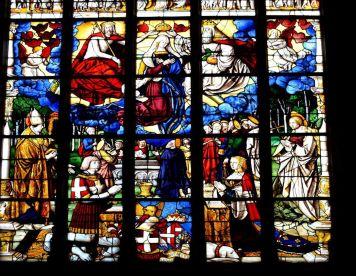 Monastère royal de Brou - Vitraux - LANKAART