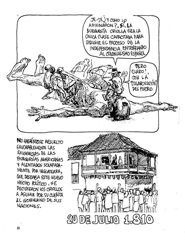 La Historia de Colombia (6) Sin permiso