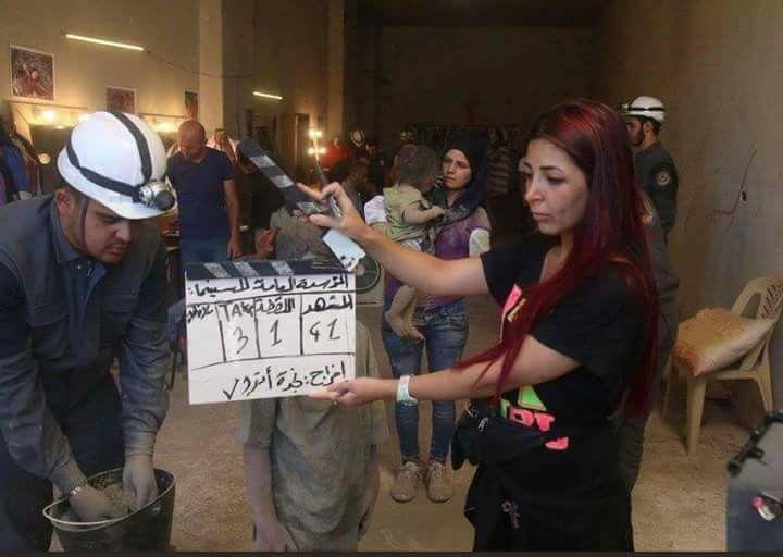 Image result for foto de cascos blancos terroristas de siria