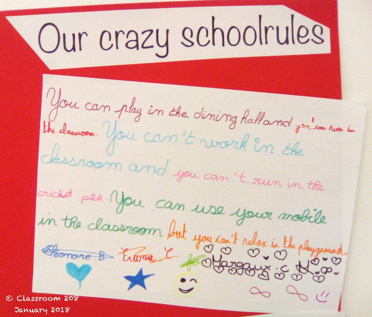 6 4 Our Crazy School Rules