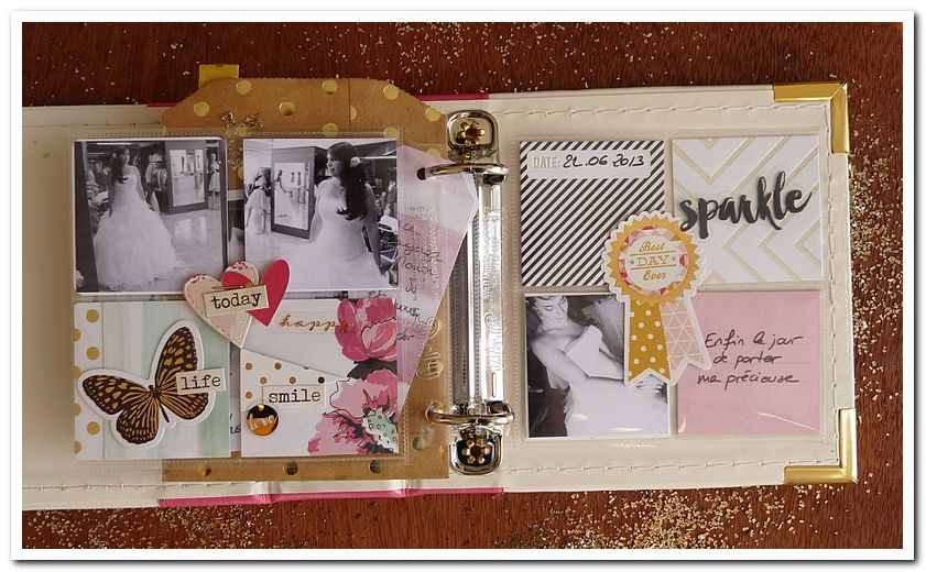 Cartoscrap - Mini-album essayages - Tuto