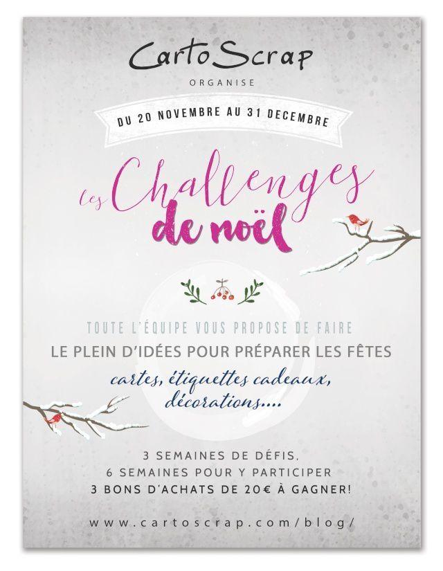 Cartoscrap - Challenges de Noël - challenge #2